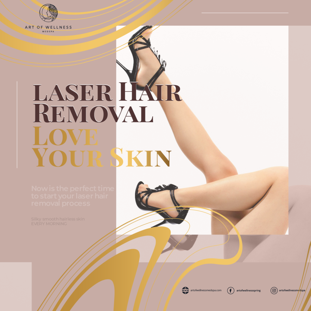 Laser Hair Removal - Silky, smooth, hairless skin... every morning