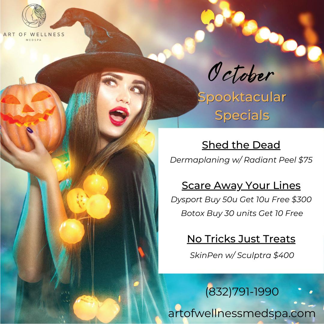 Art of Wellness Medspa October Specials